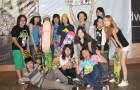 Girls contest in Woodward Beijing 女子滑板比赛