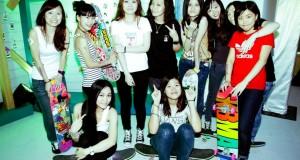 Girls in HongKong Converse Summer Party 板女们在香港匡威夏日派对