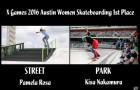 X Games 2016 奥斯汀站女子滑板冠军视频